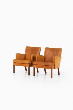 Kaare Klint Easy Chairs Model 5313 Produced by Rud Rasmussen Cabinetmakers - 1886604