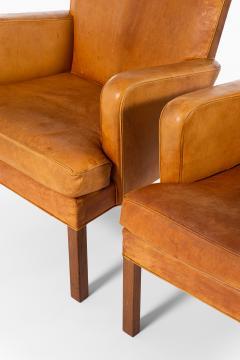 Kaare Klint Easy Chairs Model 5313 Produced by Rud Rasmussen Cabinetmakers - 1886605