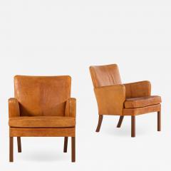 Kaare Klint Easy Chairs Model 5313 Produced by Rud Rasmussen Cabinetmakers - 1888249