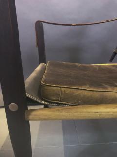 Kaare Klint Kaare Klint Safari Chair Canvas and Leather Rud Rasmussen - 1745666