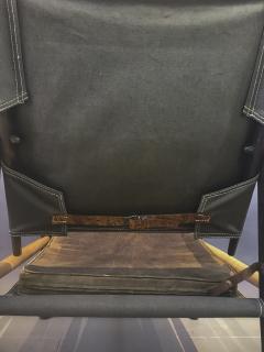 Kaare Klint Kaare Klint Safari Chair Canvas and Leather Rud Rasmussen - 1745667