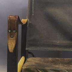 Kaare Klint Kaare Klint Safari Chair Canvas and Leather Rud Rasmussen - 1745669