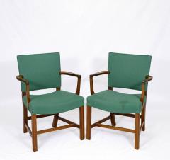 Kaare Klint Pair of Kaare Klint Armchairs - 178402