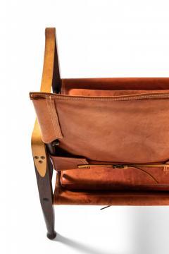 Kaare Klint Safari Easy Chairs Produced by Rud Rasmussen - 1922317