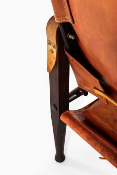 Kaare Klint Safari Easy Chairs Produced by Rud Rasmussen - 1922318