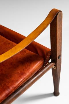 Kaare Klint Safari Easy Chairs Produced by Rud Rasmussen - 1922319