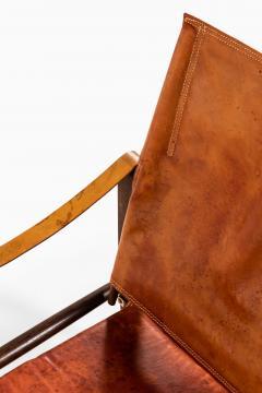 Kaare Klint Safari Easy Chairs Produced by Rud Rasmussen - 1922320