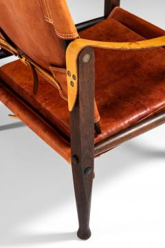 Kaare Klint Safari Easy Chairs Produced by Rud Rasmussen - 1922321