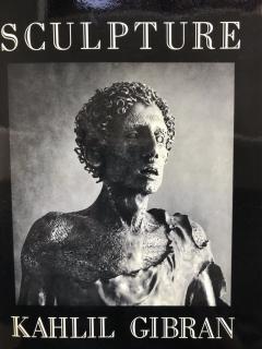 Kahlil George Gibran Bronze Nude by Kahlil Gibran - 1220655