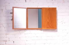 Kai Kristiansen Danish Teak Tri Fold Wall Mirror by Kai Kristiansen for Aksel Kjersgaard - 1113979