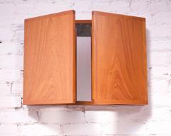 Kai Kristiansen Danish Teak Tri Fold Wall Mirror by Kai Kristiansen for Aksel Kjersgaard - 1113983