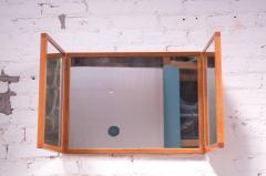 Kai Kristiansen Danish Teak Tri Fold Wall Mirror by Kai Kristiansen for Aksel Kjersgaard - 1113987