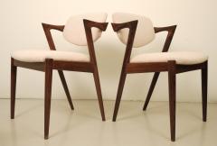 Kai Kristiansen KAI KRISTIANSEN rosewood dining chair circa 1956 Denmark  - 882990
