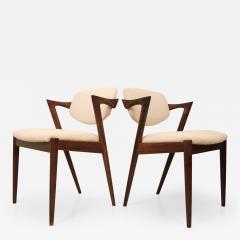Kai Kristiansen KAI KRISTIANSEN rosewood dining chair circa 1956 Denmark  - 883567