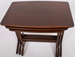 Kai Kristiansen Kai Kristiansen Set of Three Nesting Tables 1960s - 1572234