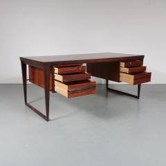 Kai Kristiansen Model 70 Desk by Kai Kristiansen for Feldballes M belfabrik Denmark 1950 - 1140101