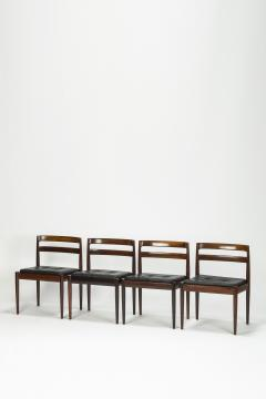 Kai Kristiansen Set of 4 Kai Kristiansen Chairs Model Universe Rosewood - 1480550