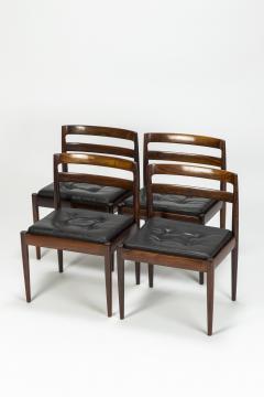 Kai Kristiansen Set of 4 Kai Kristiansen Chairs Model Universe Rosewood - 1480625