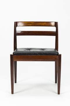 Kai Kristiansen Set of 4 Kai Kristiansen Chairs Model Universe Rosewood - 1480627