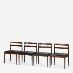 Kai Kristiansen Set of 4 Kai Kristiansen Chairs Model Universe Rosewood - 1483556