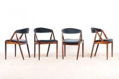 Kai Kristiansen Set of 4 Rosewood Dinning Chairs by Kai Kristiansen 1960s - 1063364