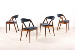 Kai Kristiansen Set of 4 Rosewood Dinning Chairs by Kai Kristiansen 1960s - 1063365