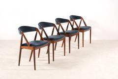Kai Kristiansen Set of 4 Rosewood Dinning Chairs by Kai Kristiansen 1960s - 1063368