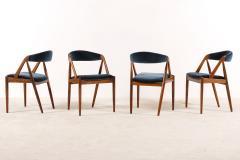 Kai Kristiansen Set of 6 Oak Dinning Chairs by Kai Kristiansen 1960s - 1249765