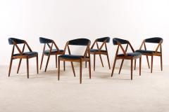 Kai Kristiansen Set of 6 Oak Dinning Chairs by Kai Kristiansen 1960s - 1249766