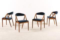Kai Kristiansen Set of 6 Oak Dinning Chairs by Kai Kristiansen 1960s - 1249767