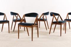 Kai Kristiansen Set of 6 Oak Dinning Chairs by Kai Kristiansen 1960s - 1249769