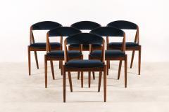 Kai Kristiansen Set of 6 Oak Dinning Chairs by Kai Kristiansen 1960s - 1249773