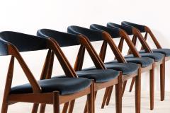 Kai Kristiansen Set of 6 Oak Dinning Chairs by Kai Kristiansen 1960s - 1249774