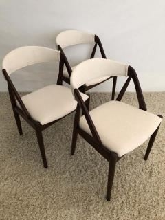 Kai Kristiansen Set of 8 Kai Kristiansen Dining Chairs for Raymor Co - 1735763