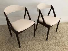 Kai Kristiansen Set of 8 Kai Kristiansen Dining Chairs for Raymor Co - 1735813