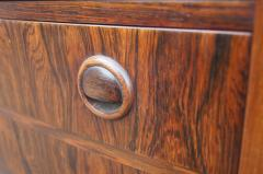Kai Kristiansen Small Rosewood Five Drawer Dresser by Kai Kristiansen - 1177798