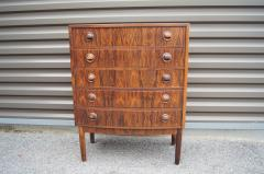 Kai Kristiansen Small Rosewood Five Drawer Dresser by Kai Kristiansen - 1177799