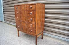 Kai Kristiansen Small Rosewood Five Drawer Dresser by Kai Kristiansen - 1177801