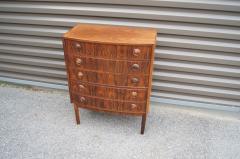 Kai Kristiansen Small Rosewood Five Drawer Dresser by Kai Kristiansen - 1177802