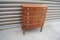 Kai Kristiansen Small Rosewood Five Drawer Dresser by Kai Kristiansen - 1177804