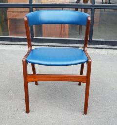 Kai Kristiansen Solid Afromosia Teak Curved Back Desk Chair Model T21 by Kai Kristiansen - 2099184