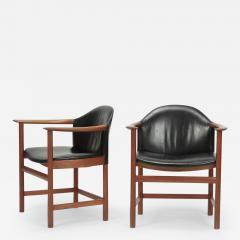 Kai Lyngfeldt Larsen 2 Kai Lyngfeldt Larsen Chairs Denmark 60s - 1640660