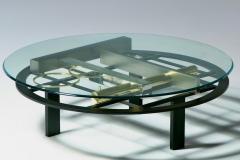 Kaizo Oto Kaizo Oto for Design Institute of America Geometric Post Modern Coffee Table - 2134786