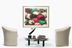 Kaizo Oto Kaizo Oto for Design Institute of America Geometric Post Modern Coffee Table - 2134799