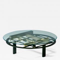 Kaizo Oto Kaizo Oto for Design Institute of America Geometric Post Modern Coffee Table - 2139152