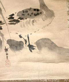 Kano Tanyu Pair of Japanese Ink Hanging Scrolls Kano Tanyu - 1663900