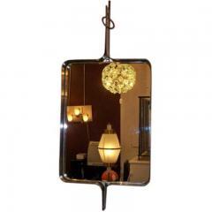 Kappa A Modernist Steel Framed Wall Mirror by Kappa - 255576