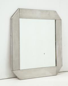 Kappa Modernist stainless steel mirror in the style of Kappa France 1970s - 933063