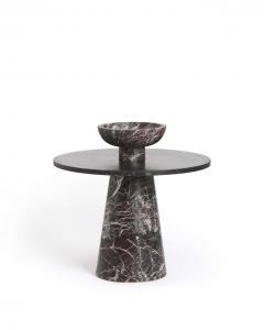 Karen Chekerdjian RED INSIDE OUT TABLE SET BY KAREN CHEKERDJIAN - 2041958