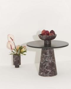 Karen Chekerdjian RED INSIDE OUT TABLE SET BY KAREN CHEKERDJIAN - 2041964